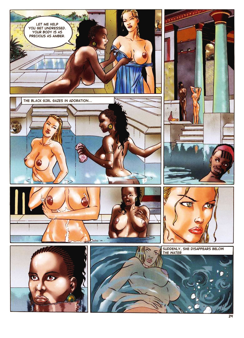 Amazone musulare cartoon porn erotica photo